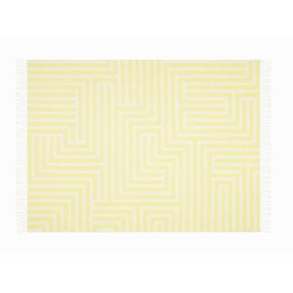 Girard Wool Blanketgirard wool blanket, maze pattern