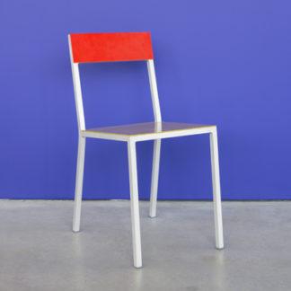 Alu ChairAlu Chair curry/red