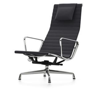 Aluminium Chair EA124Eames Aluminium Chair EA 124 - hopsak zwart