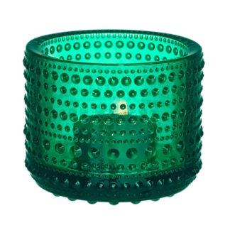 Kastehelmi VotiveKastehelmi theelichthouder, smaragdgroen, Ø64 mm