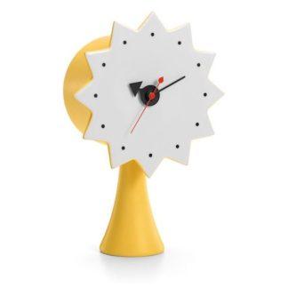 Ceramic Clock, Model #2ceramic clock, model 2, geel
