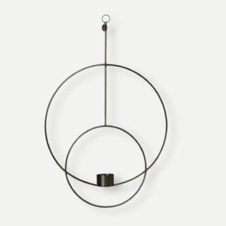 Hanging tealight deco circularHangend theelicht