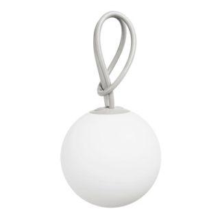 BollekeBolleke hanglamp oplaadbaar via USB lichtgrijs