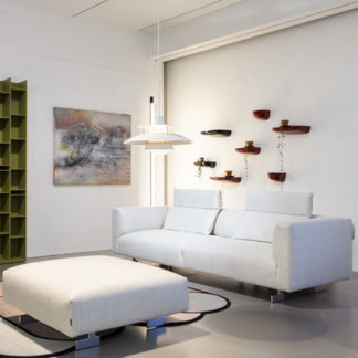 KimKim sofa, ecru gestoffeerd