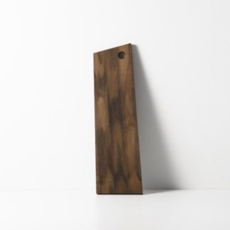 Asymmetric Cutting Board (Medium)snijplank, medium - gerookt eiken