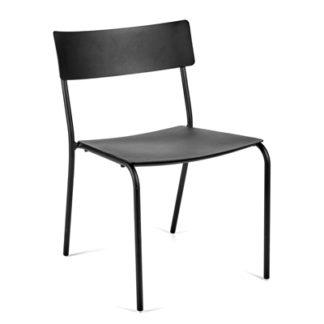 Augustaugust - zonder armleuningen - aluminium zwart
