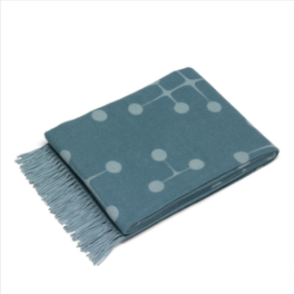 Eames wool blanketEames wool blanket, Light blue