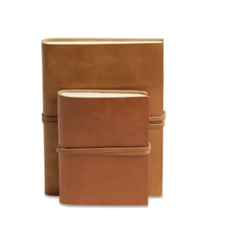 Rustic leather journalrustic leather journal - notitieboek
