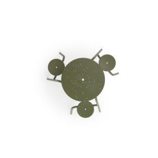 Virusvirus - 3-zit (ø80/160 cm) - rietgroen