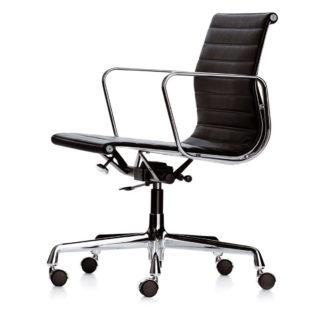 Aluminium Chair EA 117EA 117, stof hopsak, kleur rero onderstel chroom