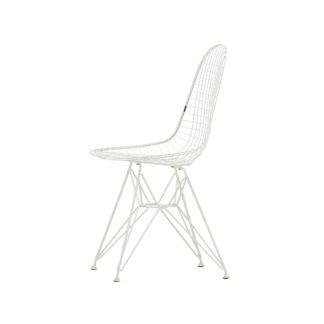 Wire Chair DKRDKR stoel - zit en onderstel wit 04 poedercoating