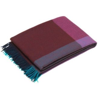 Colour Block BlanketColour Block Blanket - Blue - Bordeaux