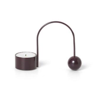 Balance Tealight Holderbalance tealight holder - dark aubergine
