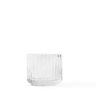 Lyngby Tealight holderLyngby Tealight holder - theelichthouder, helder, mondgeblazen glas