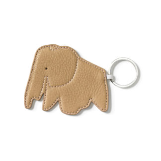 Key Ringkey ring elephant - naturel