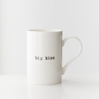 Tas 'Big Kiss'beker / koffietas 'big kiss'