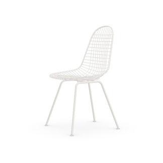 Wire Chair DKXDKX stoel - zit en onderstel wit 04 poedercoating