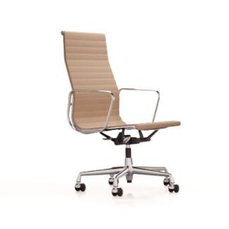 Aluminium Chair EA 119 EA 119, stof hobsak kleur nero, onderstel chroom