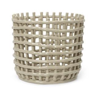 Ceramic basketCeramic basket, large
