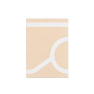 Outline NotebookArtek - Outline Notebook, tea trolley 900, Beige, A5-ft