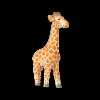 Animal Hand-Carved Giraffegiraf - handgesneden - oranje