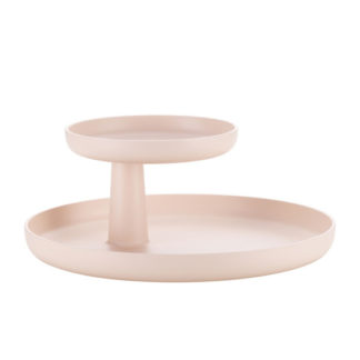Rotary trayrotary tray, zacht roze