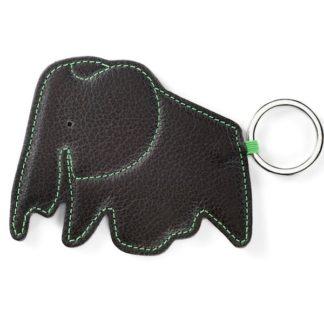 Key Ring key ring elephant, chocolate
