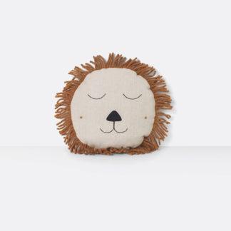 Safari Cushion LionSafari cushion Lion, kinderkussen
