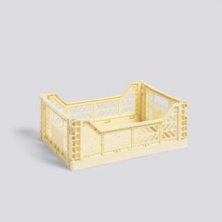 Colour CrateColour Crate opbergbox, Light Yellow, Medium
