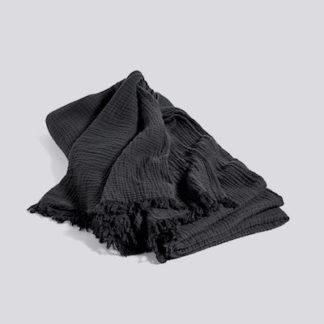 Crinkle Bedspreadcrinkle, bedspread, zwart