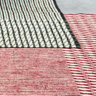 Blur runnerBlur Runner, tapijt loper groen/zwart