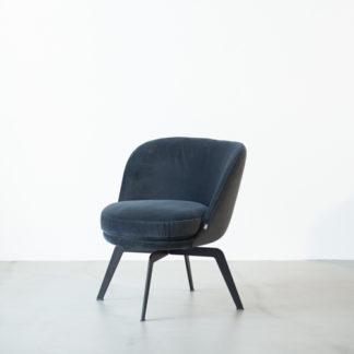 562 SE562 SE fauteuil, gestoffeerd 18.225, draaibaar onderstel metaal zwart