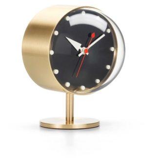 Desk Clocksnight clock, messing