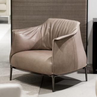 ArchibaldArchibald fauteuil, leder soul 126384 smokey