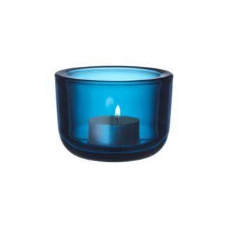 ValkeaValkea theelichthouder, turquoise, 60mm