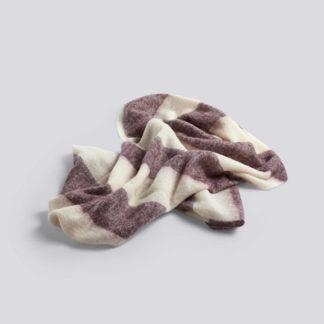 Mohair BlanketMohair blanket, bordeaux - plaid