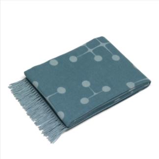 Eames wool blanketEames wool blanket, Light blue