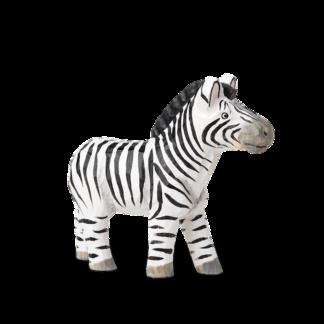 Animal Hand-Carved Zebrazebra - handgesneden - zwart en wit