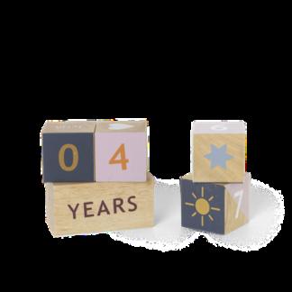 Wooden age blockswooden age blocks