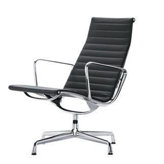 Aluminium Chair EA116Eames Aluminium Chair EA 116 - Hopsak zwart