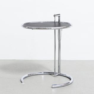 Adjustable tableAdjustable table Chroom frame, zwart blad