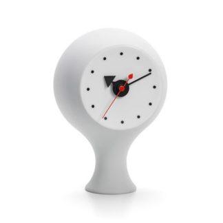 Ceramic Clock, Model #1ceramic clock, model 1, lichtgrijs