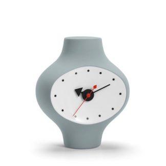 Ceramic Clock, Model #3ceramic clock, model 3, donkergrijs