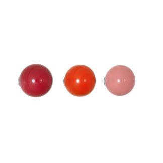 Coat dotscoat dots, rood