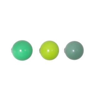 Coat dotscoat dots, groen