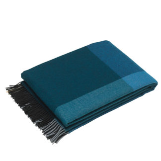 Colour Block BlanketColour Block Blanket, zwart - blauw